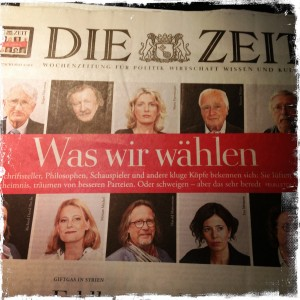 """Foto (DM) der """"Zeit"""", Nr. 37/2013 ..."""